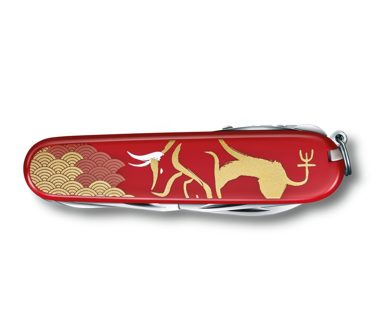 Victorinox Huntsman Year Of The Ox 2021 In Red 1 3714 E10