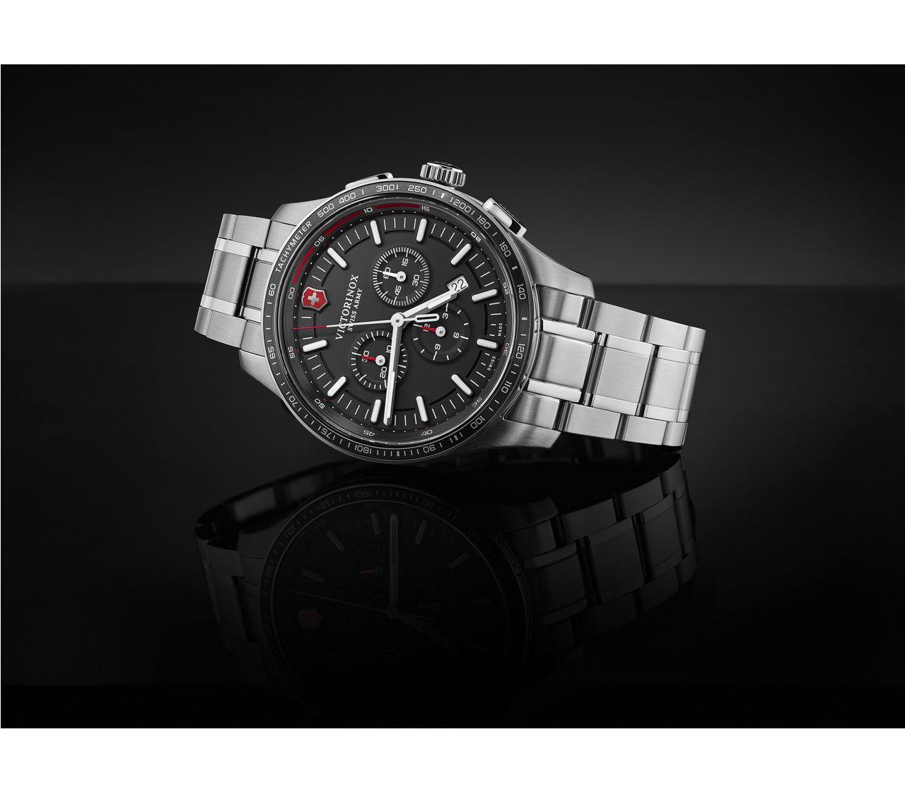 Victorinox Alliance Sport Chronograph In Schwarz 44 Mm