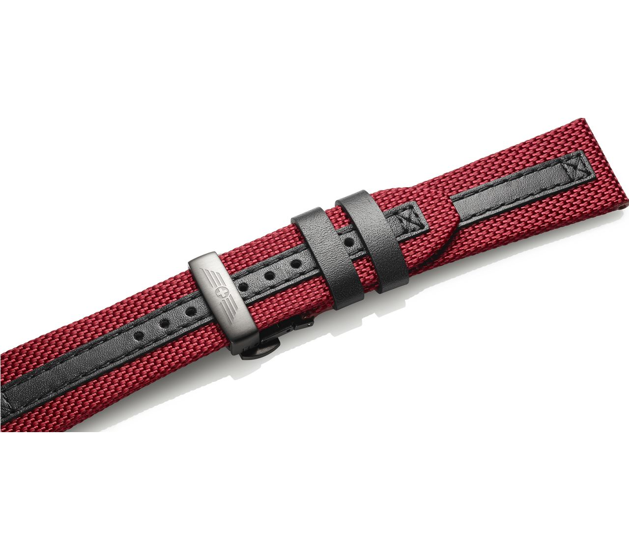 Fabric strap with buckle-005082