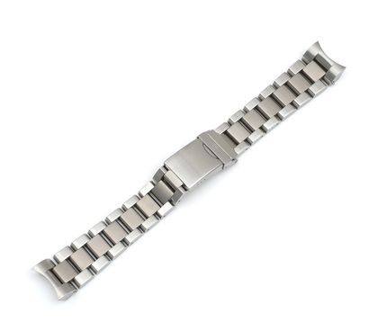Ground Force Automatic - Stainless Steel and Titanium Bracelet with Clasp