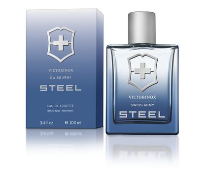 Eau de Toilette Swiss Army Steel