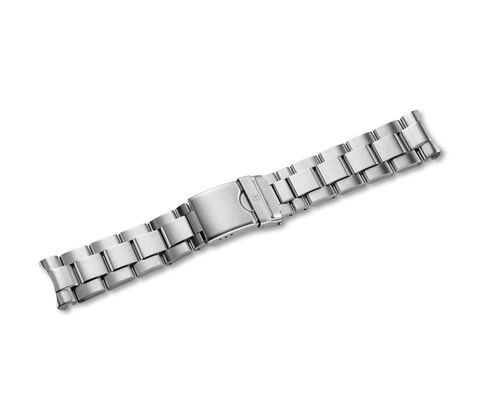 Metal bracelet with clasp-004230