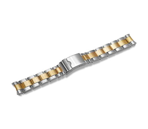 Metal bracelet with clasp-004793