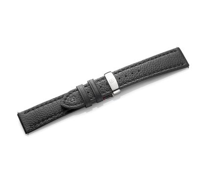 Alliance Mechanical - Black Leather Strap with Buckle