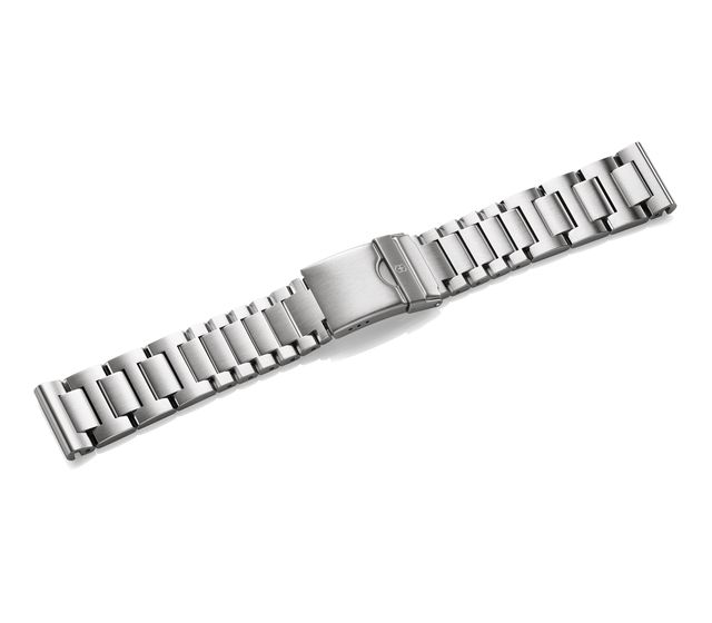 Metal bracelet with clasp-005261