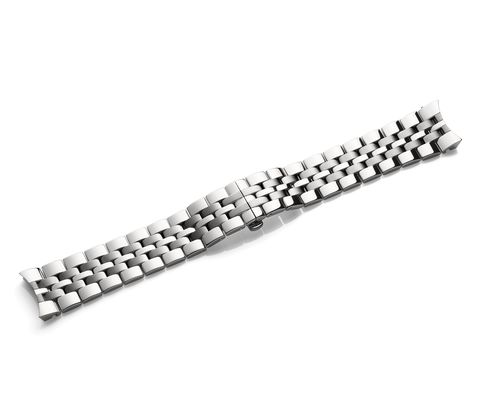 Metal bracelet with clasp-005352