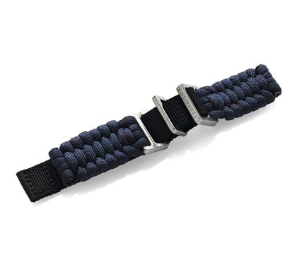 Blue paracord  strap with buckle