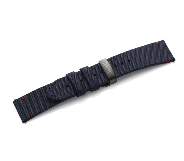 Fabric strap with PVD clasp, PVD clasp-005543.1