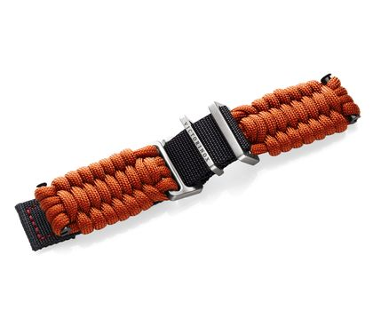 Orange paracord strap with buckle