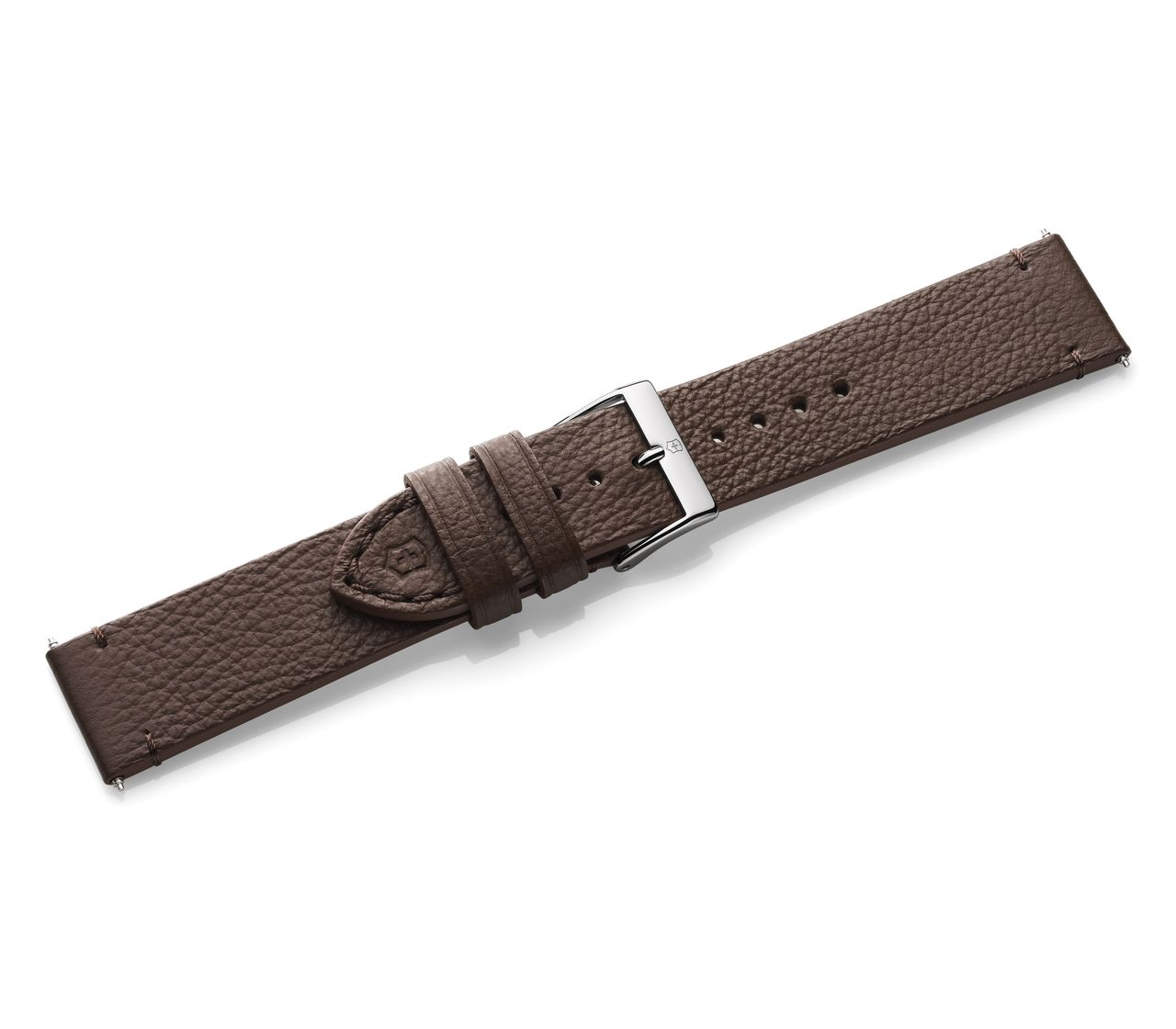 Brown leather strap with buckle-005686