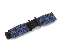 Blue Camo paracord  with buckle