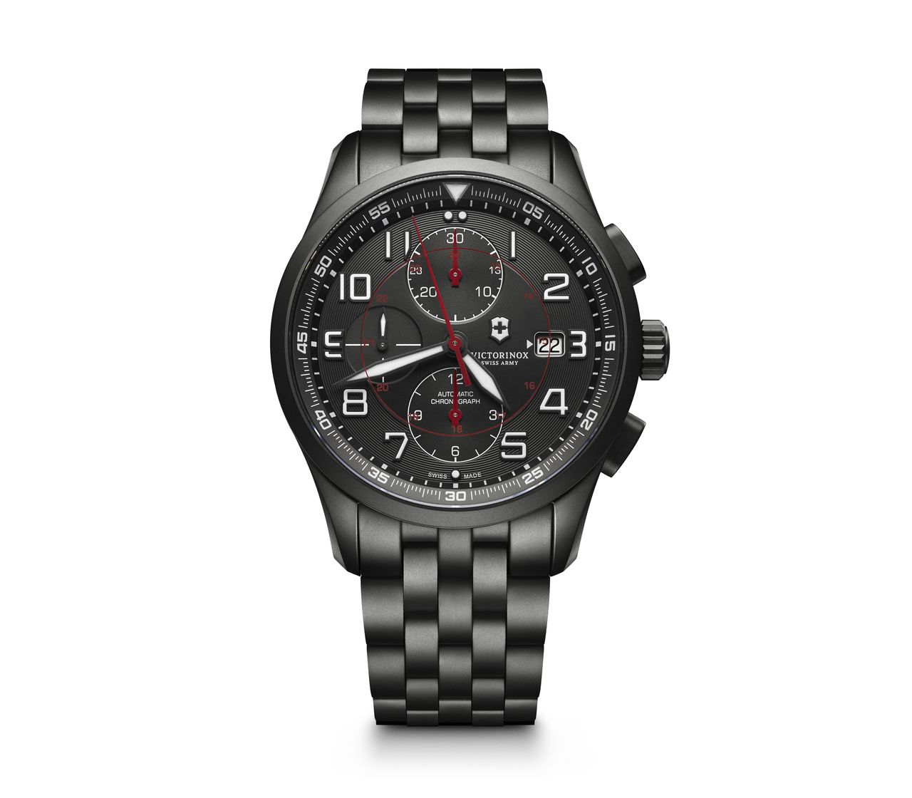Airboss Mechanical Chronograph Black Edition-241741