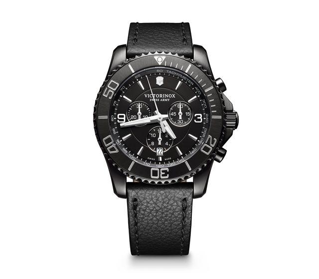 109fbac5a0a Victorinox Maverick Chronograph Black Edition in black