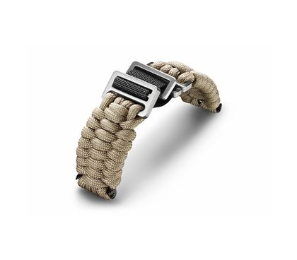 Sand paracord with buckle