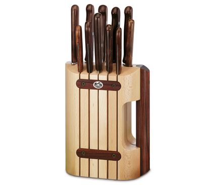 Wood Cutlery Block, 11 pieces