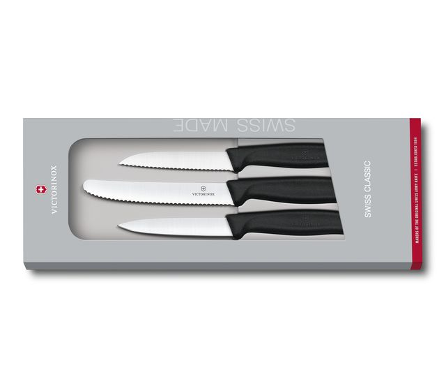 Swiss Classic Paring Knife Set, 3 pieces-6.7113.3G