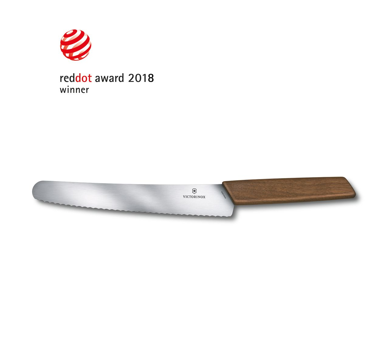 Swiss Modern Bread and Pastry Knife-6.9070.22WG