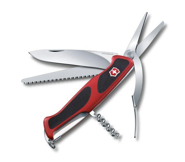 Victorinox Ranger Grip 71 Gardener In Red Black 0 9713 C