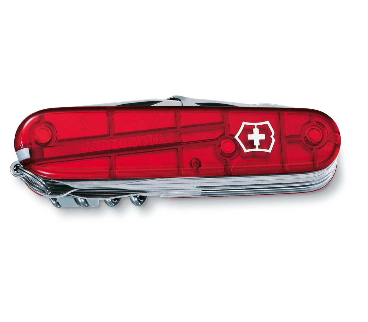Victorinox Swiss Champ In Red Transparent 1 6795 T