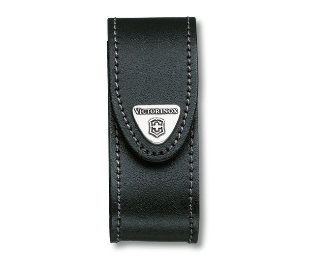 Leather Belt Pouch Black-4.0520.3