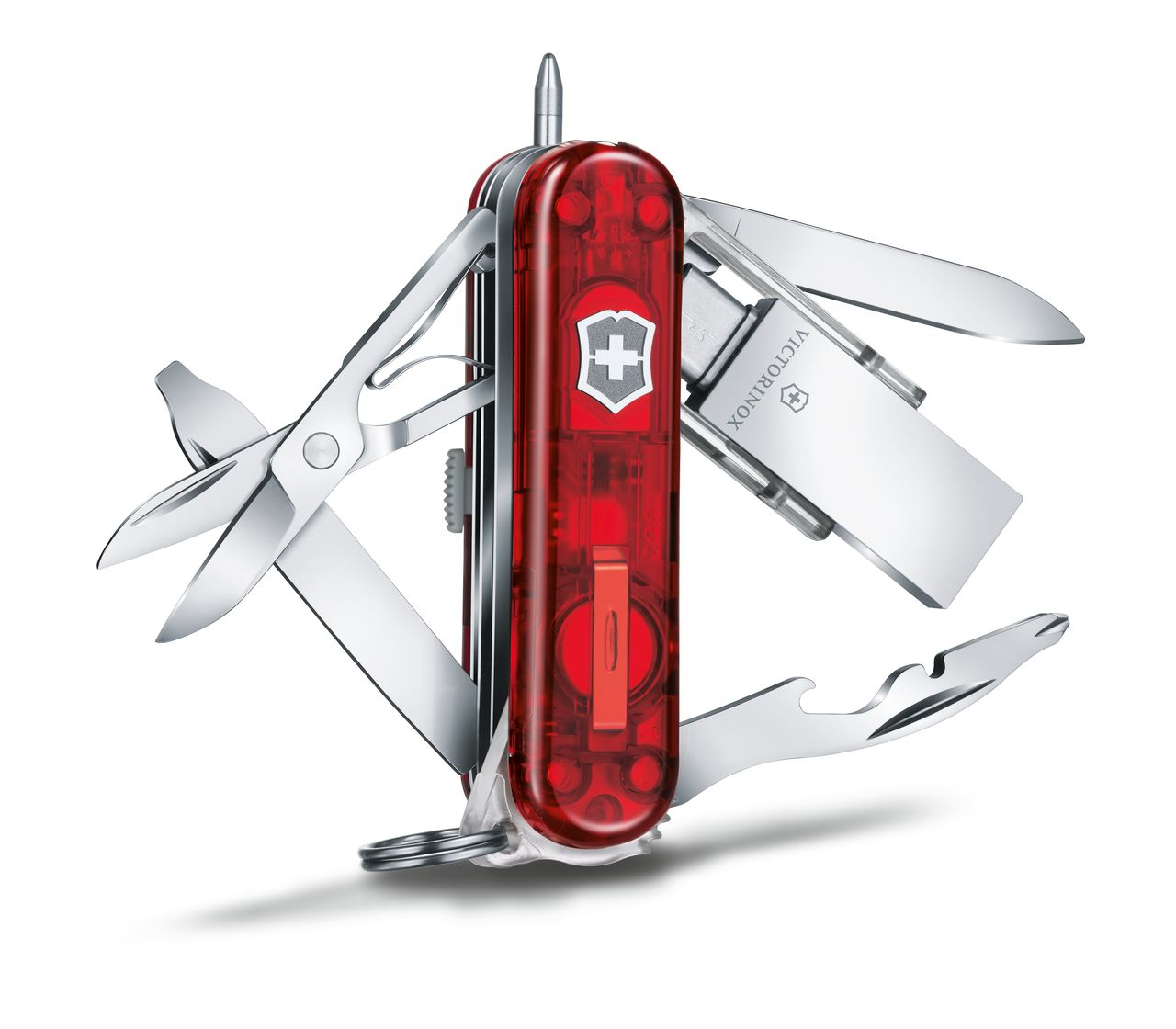 Victorinox Midnite Manager Work In Red Transparent 4