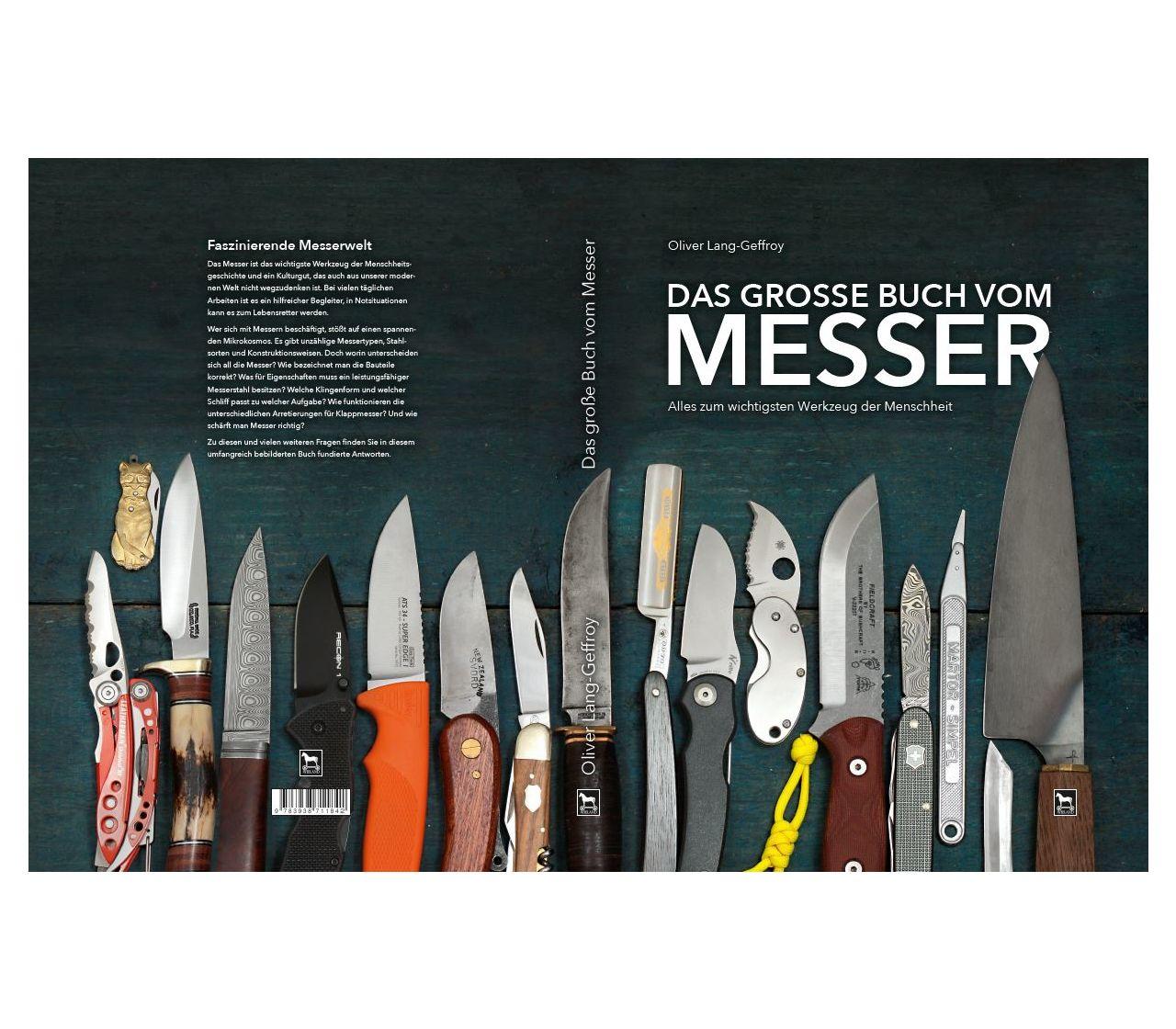 Victorinox Book Das Grosse Buch Vom Messer In German