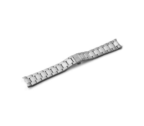 Bracelet deploying buckle with safety clasp-005943