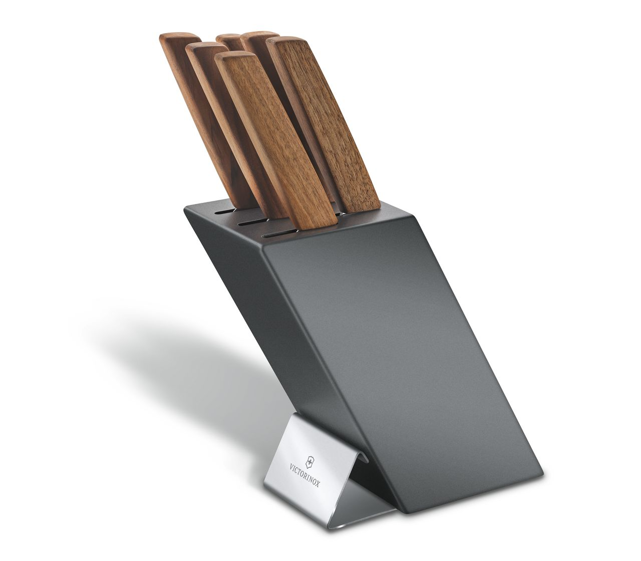 Swiss Modern Knife Block, 6 Pieces-6.7186.6