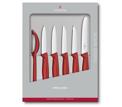 Swiss Classic Paring Knife Set, 6 pieces