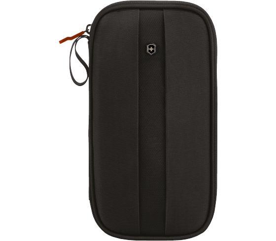 Victorinox Unisexs Travel Organizer w//RFID Protection Black Logo Victorinox Travel Gear 31172801