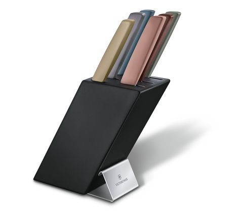 Swiss Modern Knife Block, 6 Pieces-6.7186.66