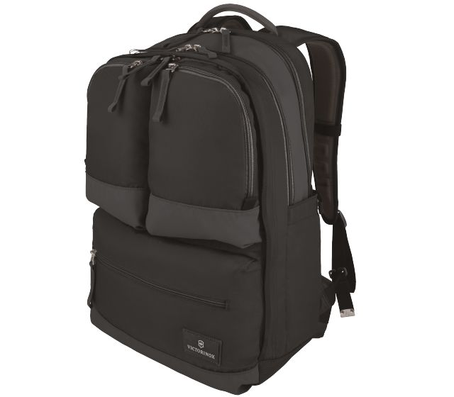 Dual-Compartment Laptop Backpack-32388101