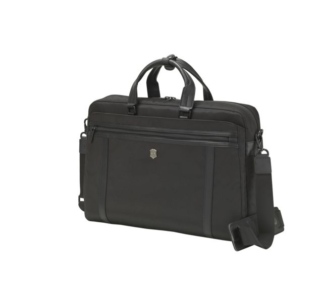 bd7dfb79f46e Victorinox 15   Laptop Brief in black - 604988