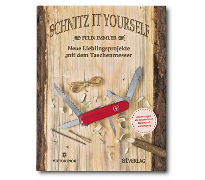 Livre « Schnitz It Yourself », en allemand