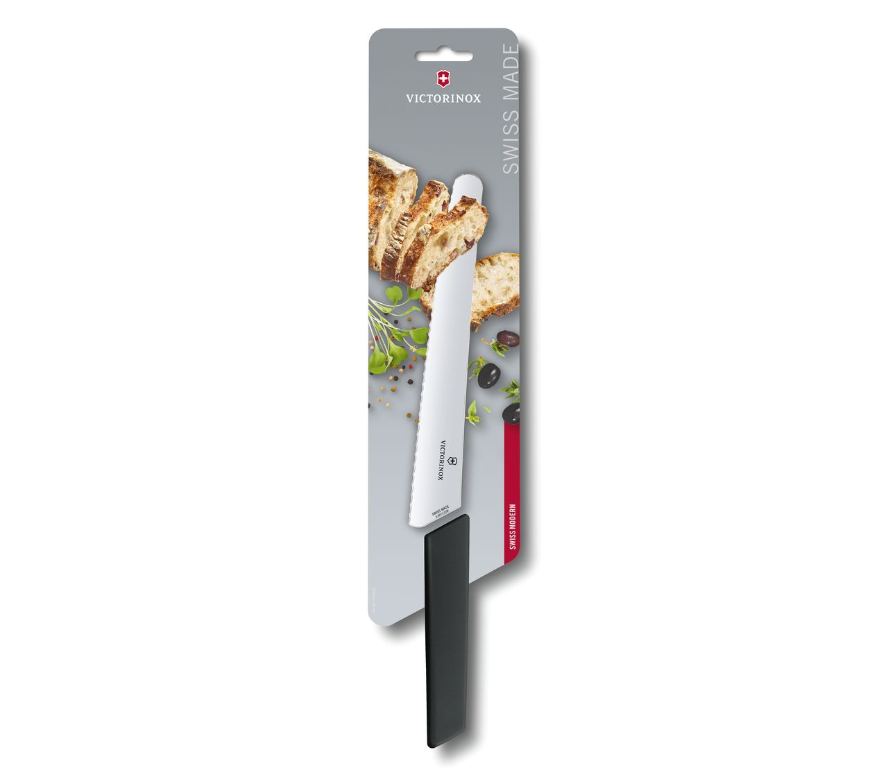 Swiss Modern Bread and Pastry Knife-6.9073.22WB