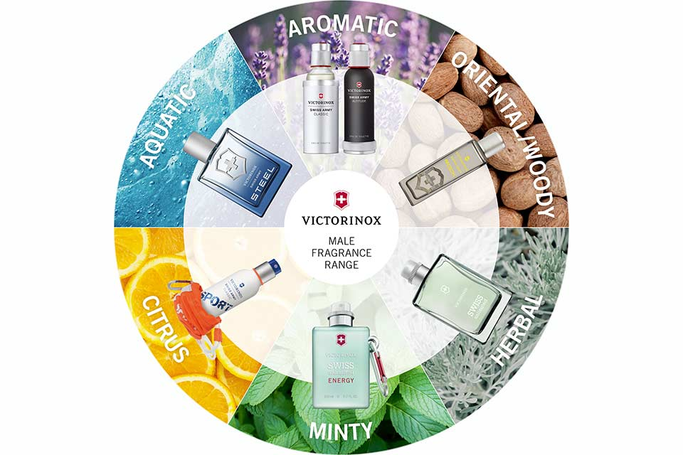 Fragrance Wheel Men