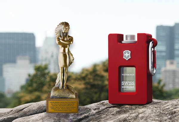 Popai Award Swiss Unlimited Fragrance