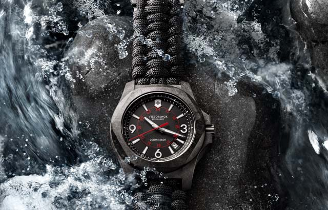 INOX carbon watch