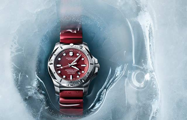 Victorinox I.N.O.X. Professional Diver Watch Red