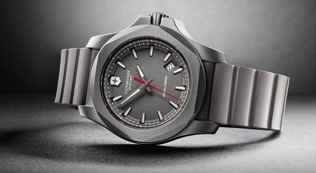 I.N.O.X. Titanium grey Victorinox watch