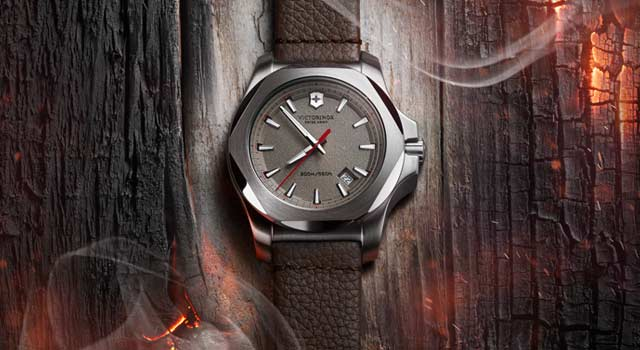 I.N.O.X. Leather Watch